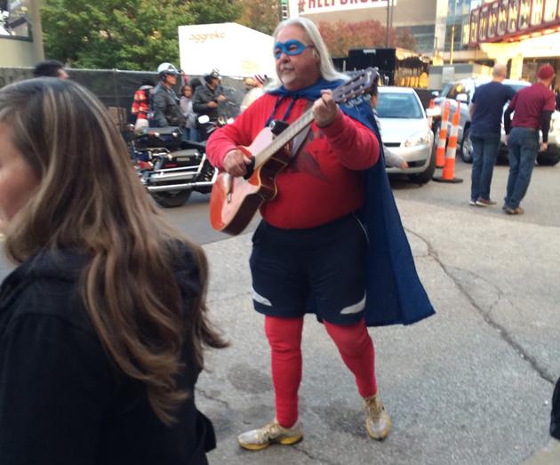 Fat Superhero