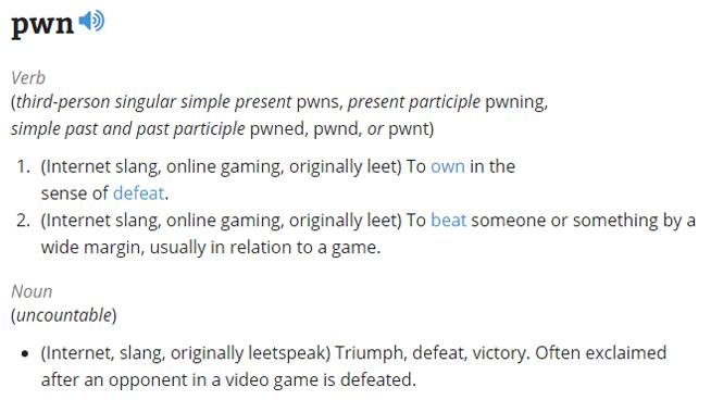 PWN Definition